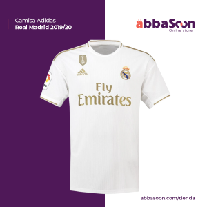 Real Madrid Adidas 19/20 – Home Jersey
