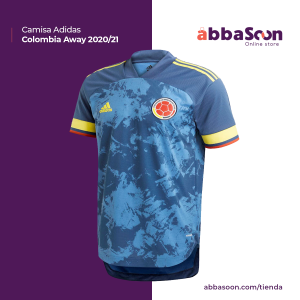 Adidas Colombia 2019/20 – Away Jersey