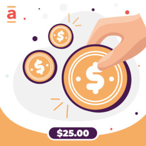 Abba Payment – $25