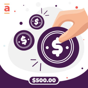 Abba Payment – $500